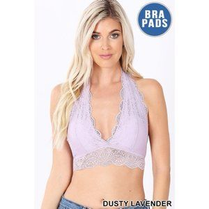 NEW - BLAIR LACE BRALETTE - DUSTY LAVENDER